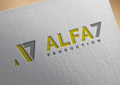 Alfa7 Production Logo Tasarımı