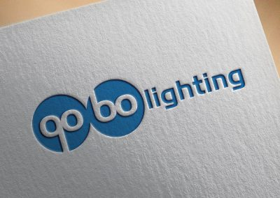 Gobo Lighting Logo Tasarımı
